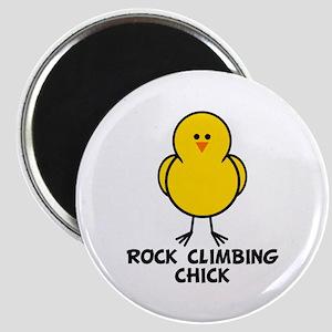 Rock Climbing Chick Magnet
