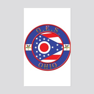 Ohio OES Rectangle Sticker