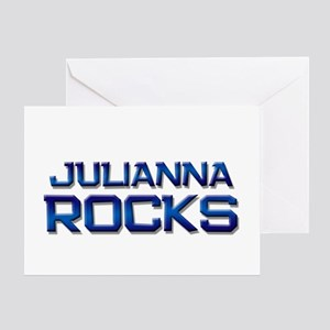 julianna rocks Greeting Card