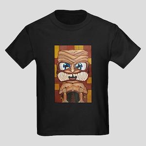 Phi Tiki 1 Kids Dark T-Shirt
