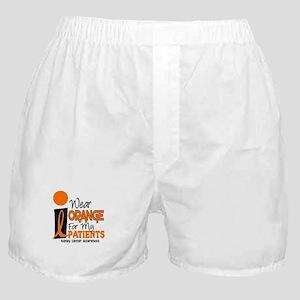 I Wear Orange For My Patients 9 KC Boxer Shorts
