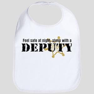 Feel Safe at Night Sleep with a Deputy Bib