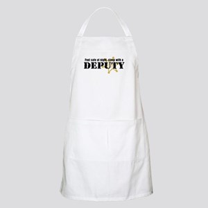 Feel Safe at Night Sleep with a Deputy BBQ Apron