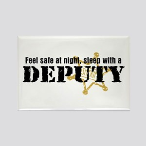 Feel Safe at Night Sleep with a Deputy Rectangle M