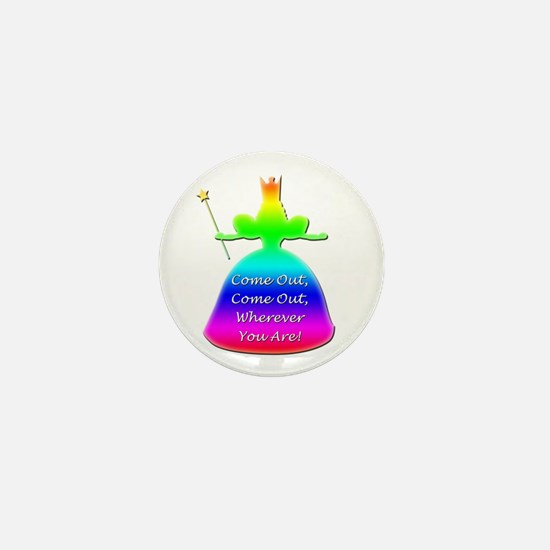 "GLBT ""Come Out"" - Mini Button"