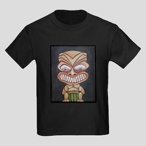 Fang Phi Tiki Kids Dark T-Shirt