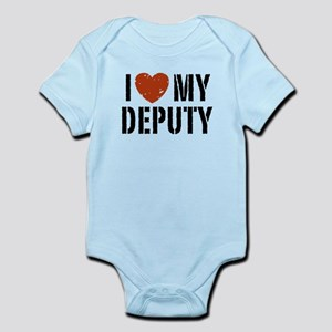 I Love My Deputy Infant Bodysuit