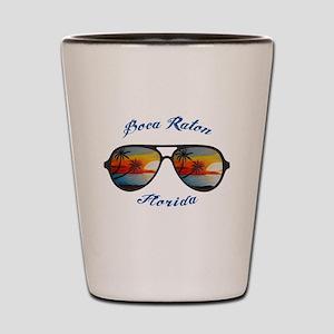 Florida - Boca Raton Shot Glass