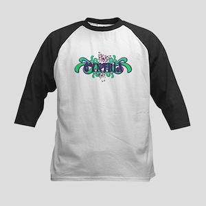 Cynthia's Butterfly Name Kids Baseball Jersey