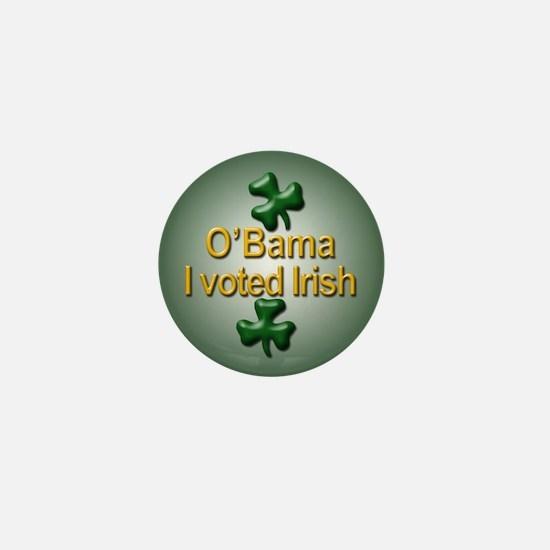 Voted Irish Mini Button