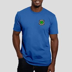 Irish Police Officers Men's Fitted T-Shirt (dark)