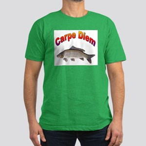Carpe Diem Seize the Day Men's Fitted T-Shirt (dar