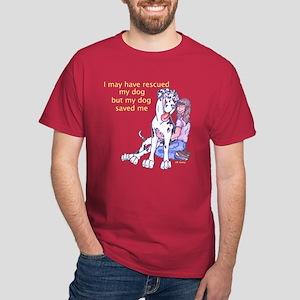NH Rescue Saved Me Dark T-Shirt