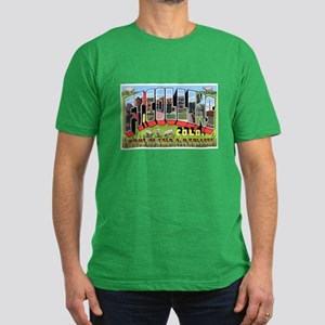 Fort Collins Colorado Greetin Men's Fitted T-Shirt