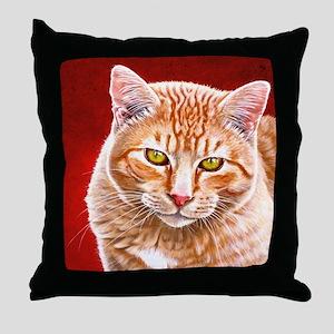 Wildstar the Cat Throw Pillow