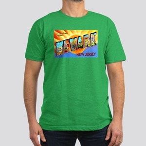 Newark New Jersey Greetings Men's Fitted T-Shirt (