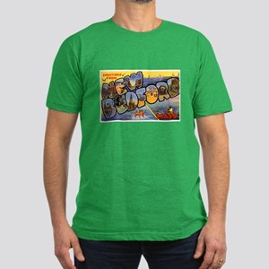 New Bedford Massachusetts Gre Men's Fitted T-Shirt