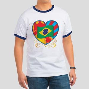 Brazillian Heart Ringer T