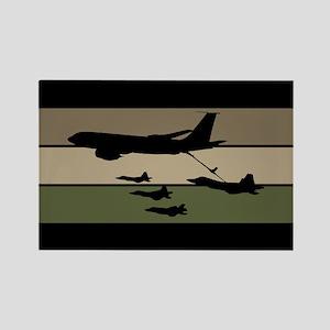 U.S. Air Force: In-Flight Refueli Rectangle Magnet