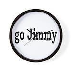 go Jimmy Wall Clock