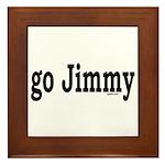 go Jimmy Framed Tile