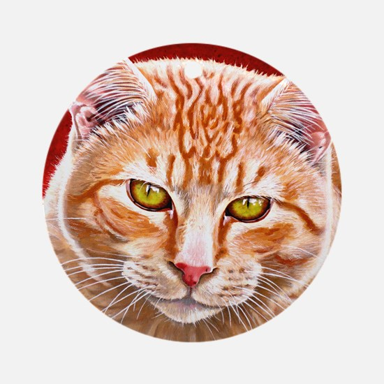Wildstar the Cat Ornament (Round)