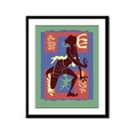 Voodoo Dancer Framed Panel Print