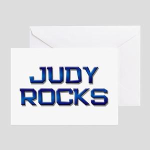 judy rocks Greeting Card