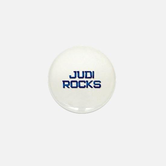 judi rocks Mini Button