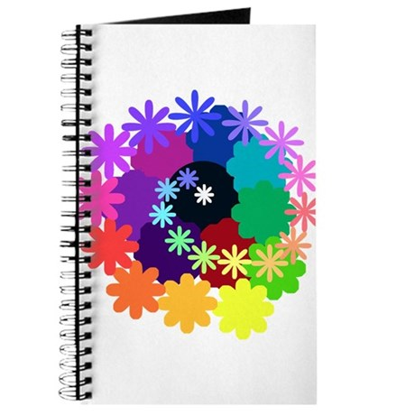 Psychedelic Flowers Journal