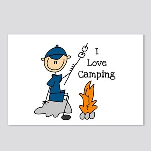 I Love Camping Postcards (Package of 8)