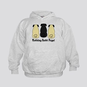Nothing Butt Pugs! Kids Hoodie