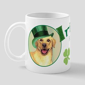 St. Patrick Yellow Lab Mug