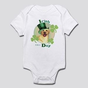 St. Patrick Yellow Lab Infant Bodysuit