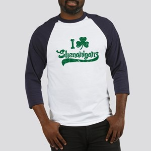 I Shamrock Shenanigans Baseball Jersey