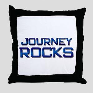 journey rocks Throw Pillow