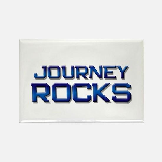 journey rocks Rectangle Magnet