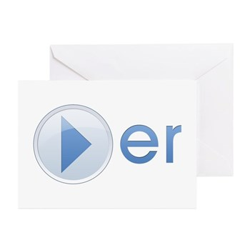 Player Greeting Cards (10 pack)