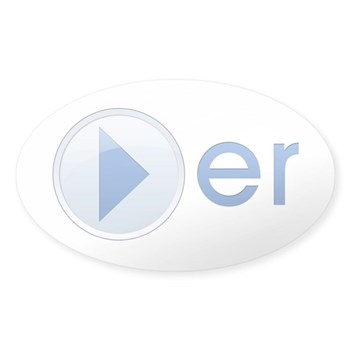 Player Oval Sticker (10 pk)