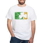 Retro Irish Logo White T-Shirt