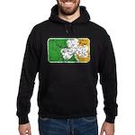 Retro Irish Logo Hoodie (dark)