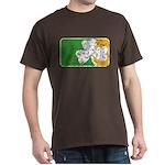 Retro Irish Logo Dark T-Shirt