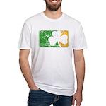 Retro Irish Logo Fitted T-Shirt