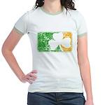 Retro Irish Logo Jr. Ringer T-Shirt