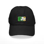 Retro Irish Logo Black Cap