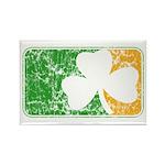Retro Irish Logo Rectangle Magnet (10 pack)