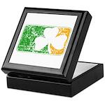 Retro Irish Logo Keepsake Box