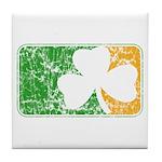 Retro Irish Logo Tile Coaster