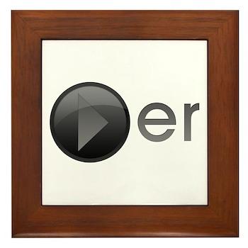 Player Framed Tile