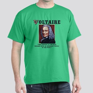 Voltaire Needs the Poor Dark T-Shirt